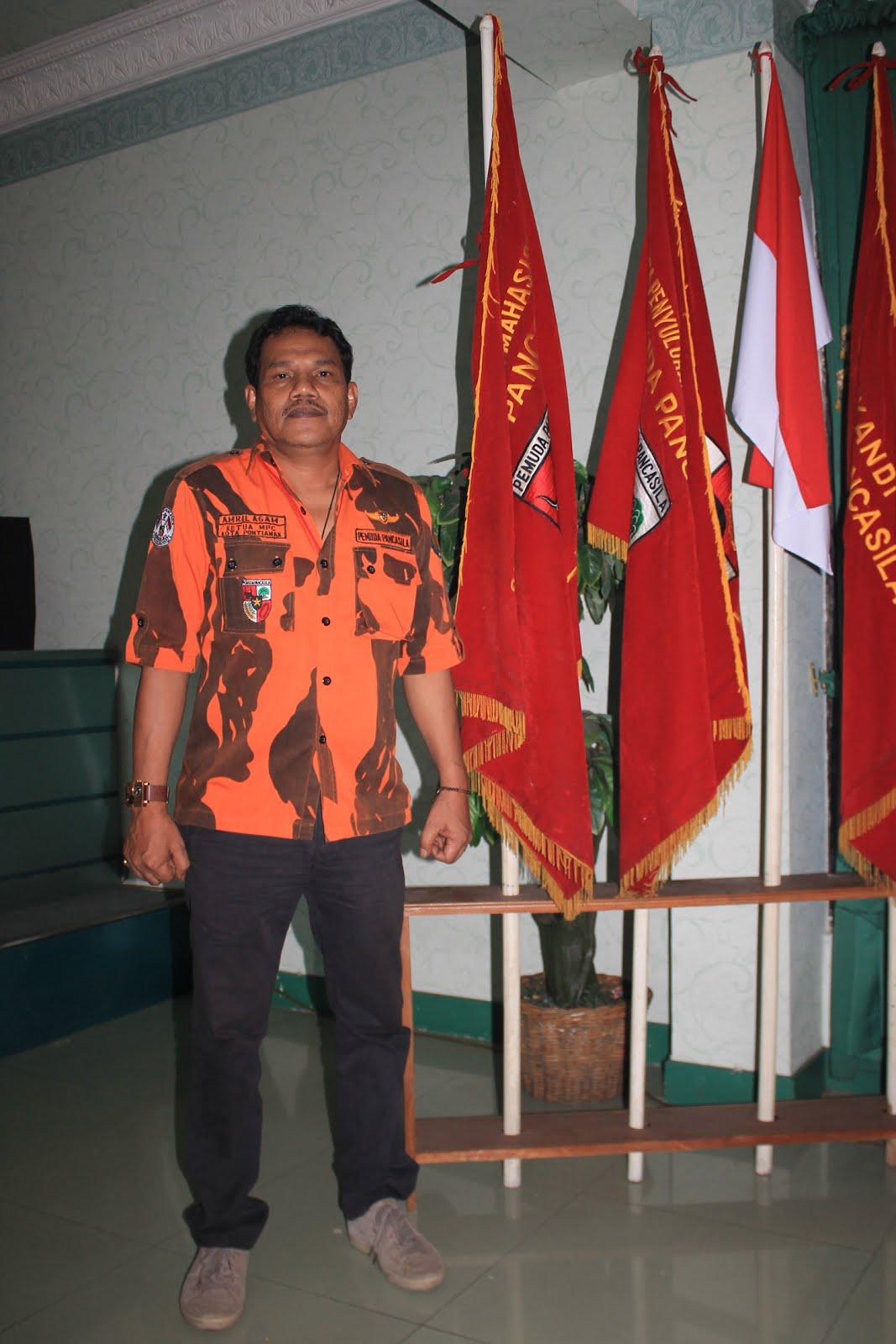 Ketua MPC Pemuda Pemuda Kota Pontianak