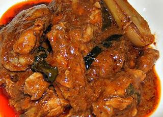 Menu Mantab - Resep memasak Ayam Rendang