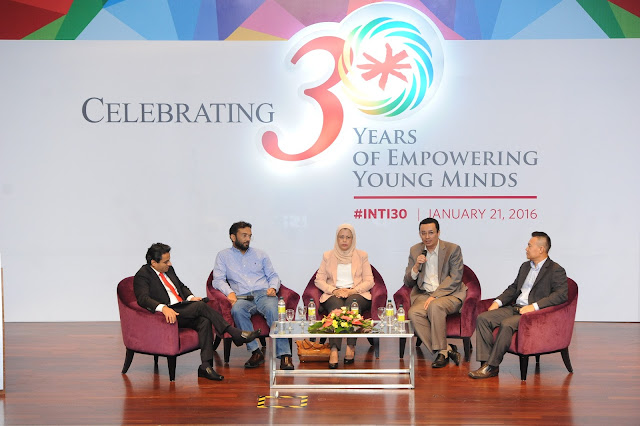#INTI30, Rethinking Employability discussion,