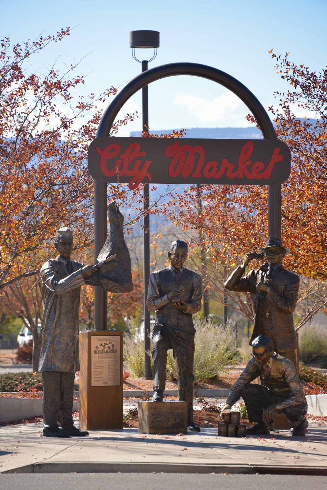 Here's to all about Fruita.: Legends of Grand Junction holds Dedication Ceremony for the Four ...