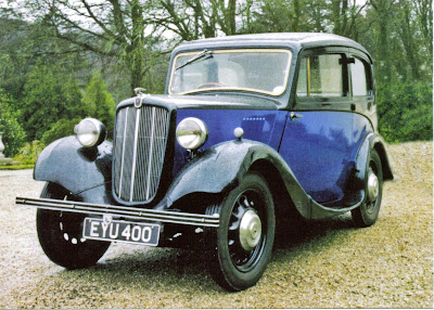 1938 Morris 8 D Model