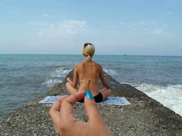 фото на море насти каменских