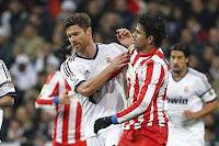 Diego Costa fue el único que peleó con el Madrid