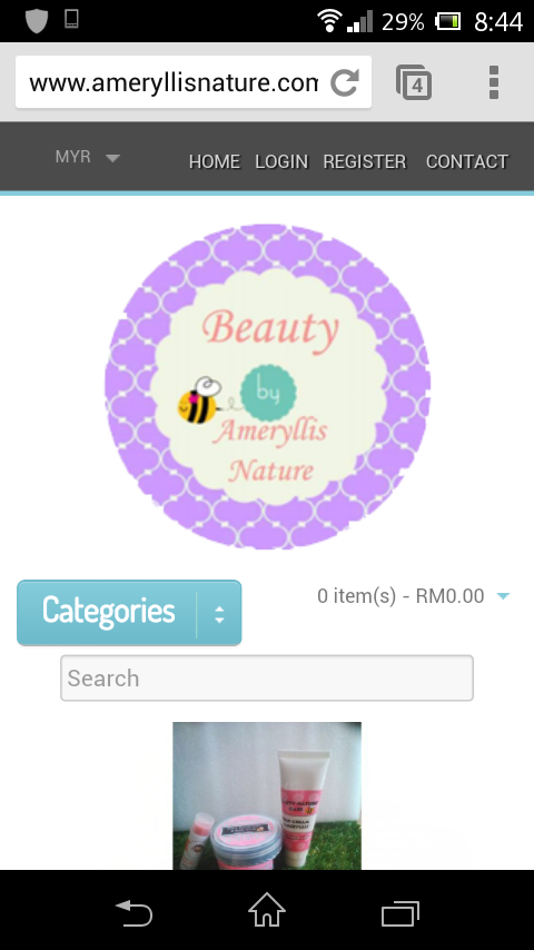 we have very own e store online Ameryllis nature for your easy shopping