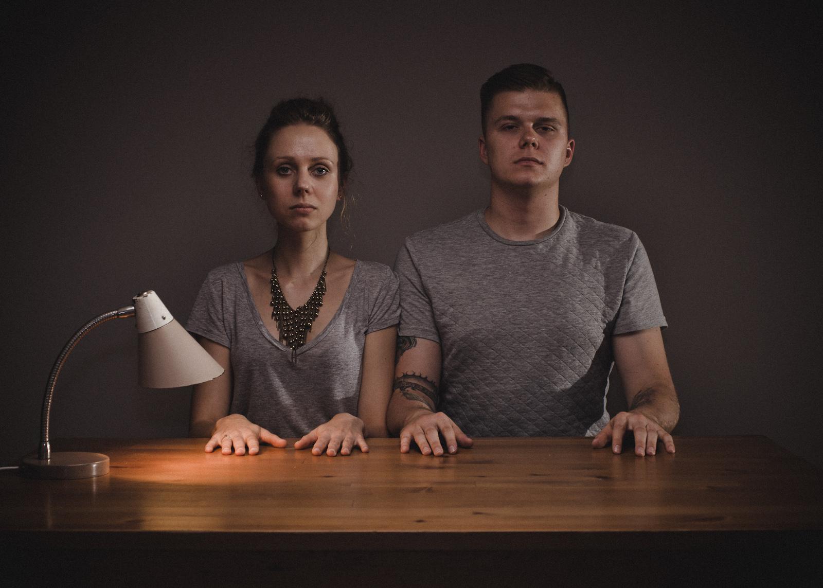 Portret podwójny. Fotografia rodzinna. fot. Łukasz Cyrus