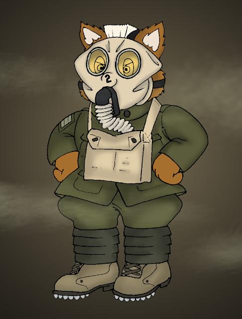 Gassed Fox por KrDoz