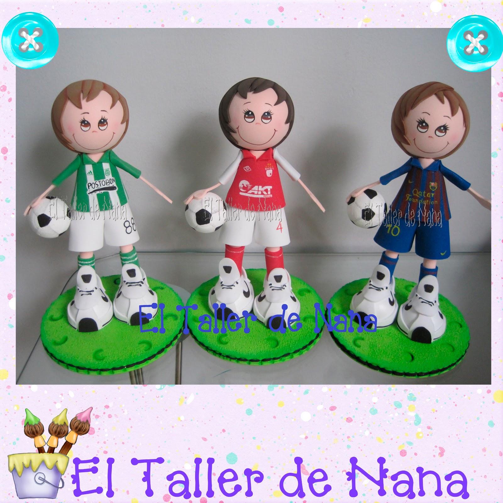 El Taller de Nana: Niños Futbolistas - Barcelona- Atlético ...