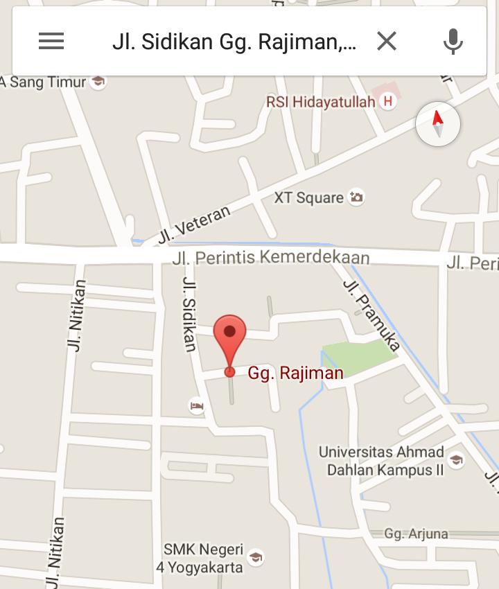 Denah Kosan / Map