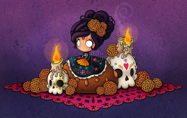 Día de muertos, festivales en México