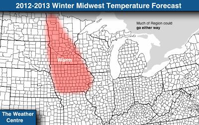 the forecast for the midwest this winter is varied in western states