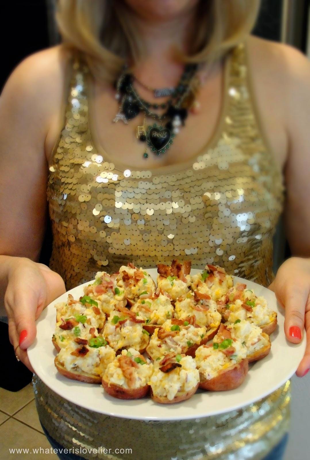 Perfect 4th of July Appetizer Recipe: Potato Salad Bites