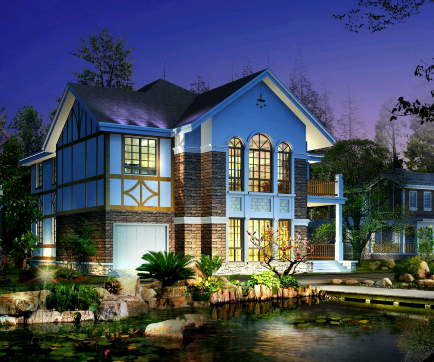 New home designs latest modern big homes exterior for Huge pretty houses