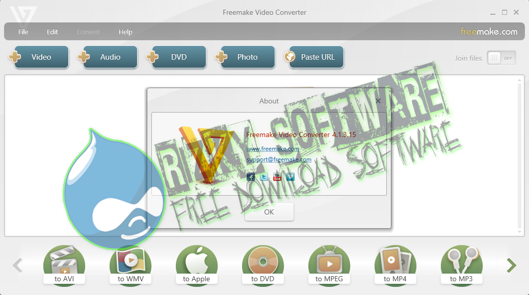 Download Software Freemake Video Converter 4.1.4.6 Terbaru