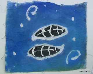 Kids Art: Pate Batik Tide Pool Flag