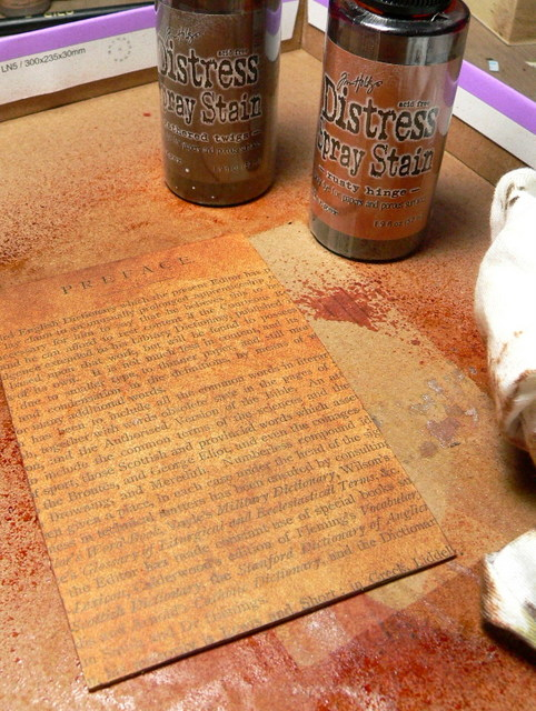 Flat Rusty Spray Paint Can