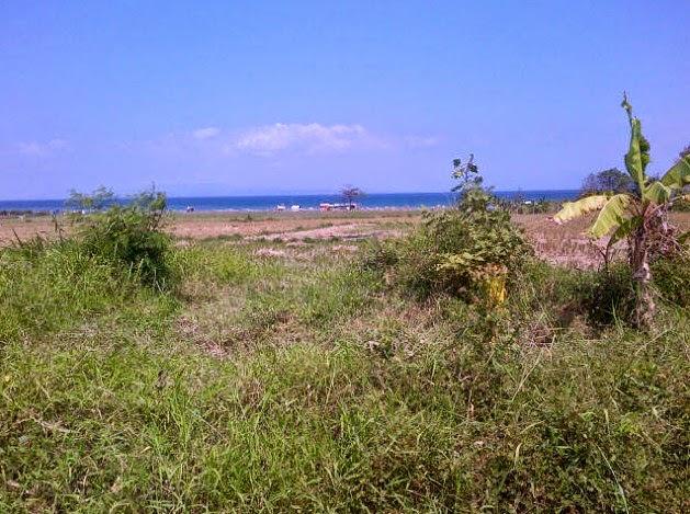 Dijual tanah pinggir pantai Lebih Gianyar