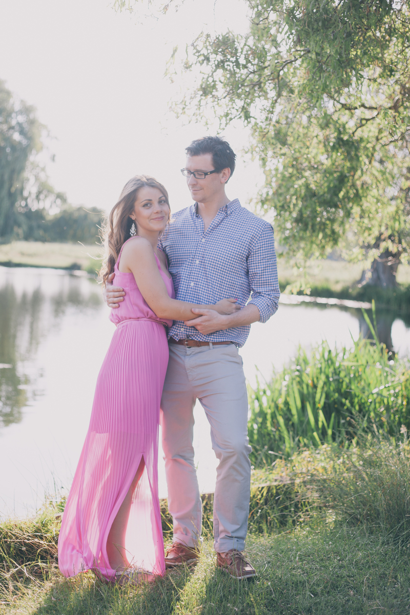 bushy park engagement photographer london destination