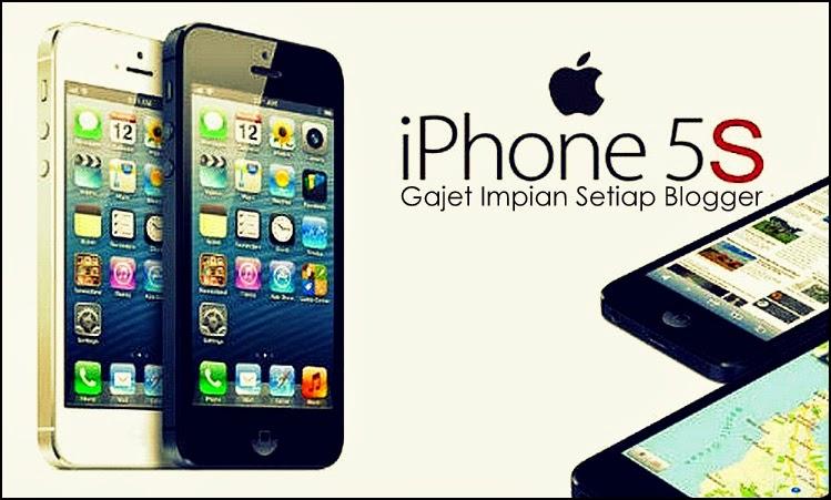cabaran iphone 5s gajet impian setiap blogger