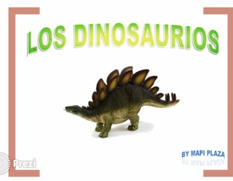 Prezi de dinosaurios