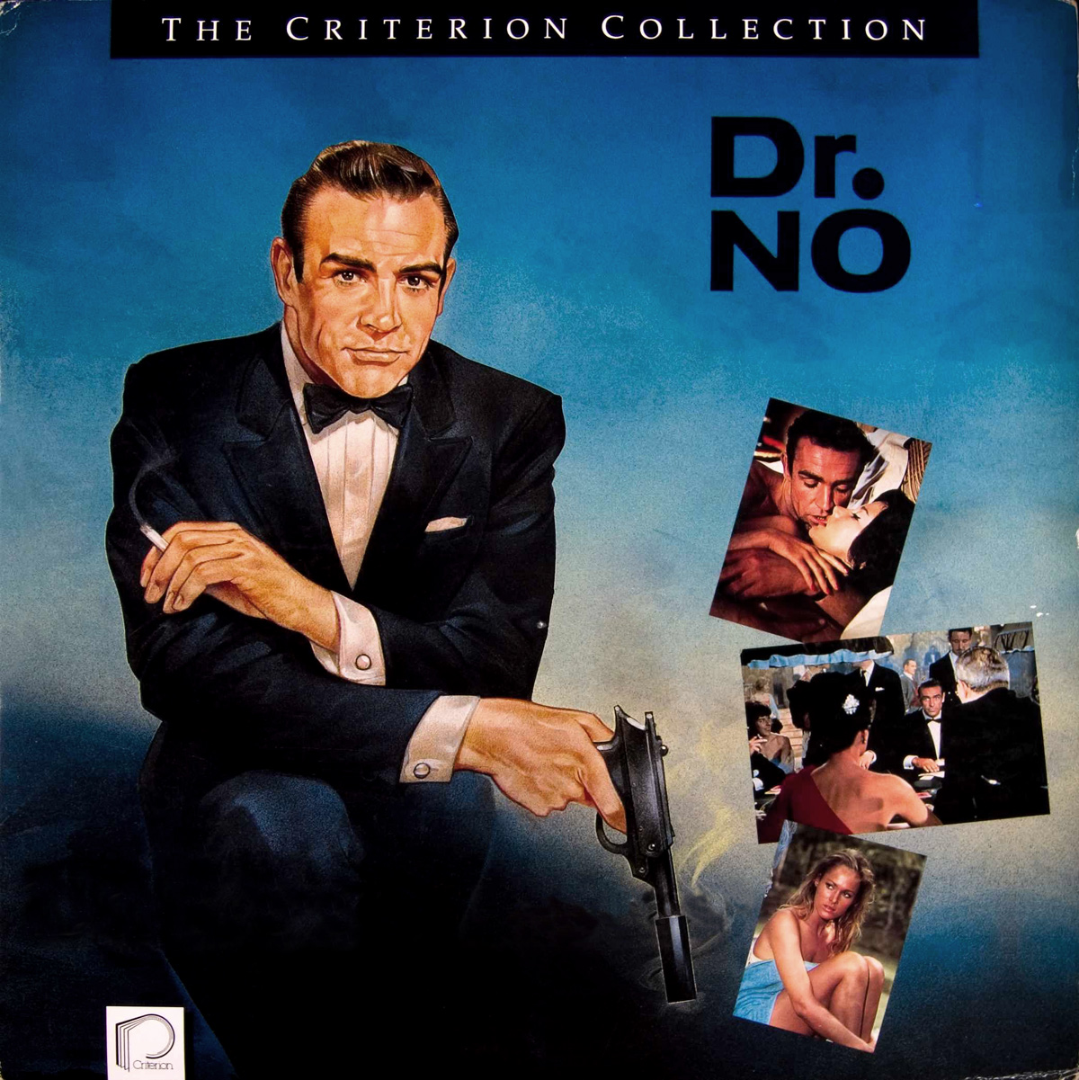 illustrated 007 the art of james bond criterion cover