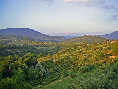 Hills near Tarano, Sabina, Italy