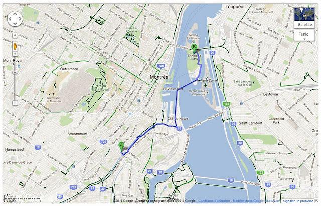 Tour de vélo à Montréal #1