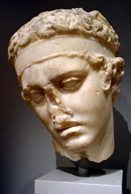 """""""Head of the Diadoumenos"""", Carlos Museum"""