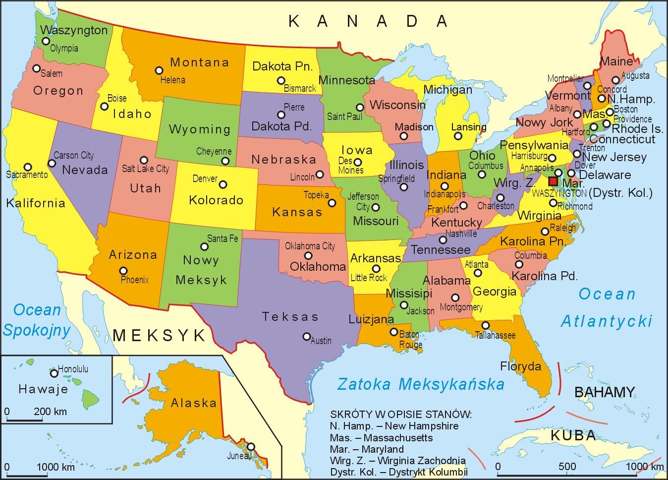 Mapa Ohio Usa - Mapa de usa