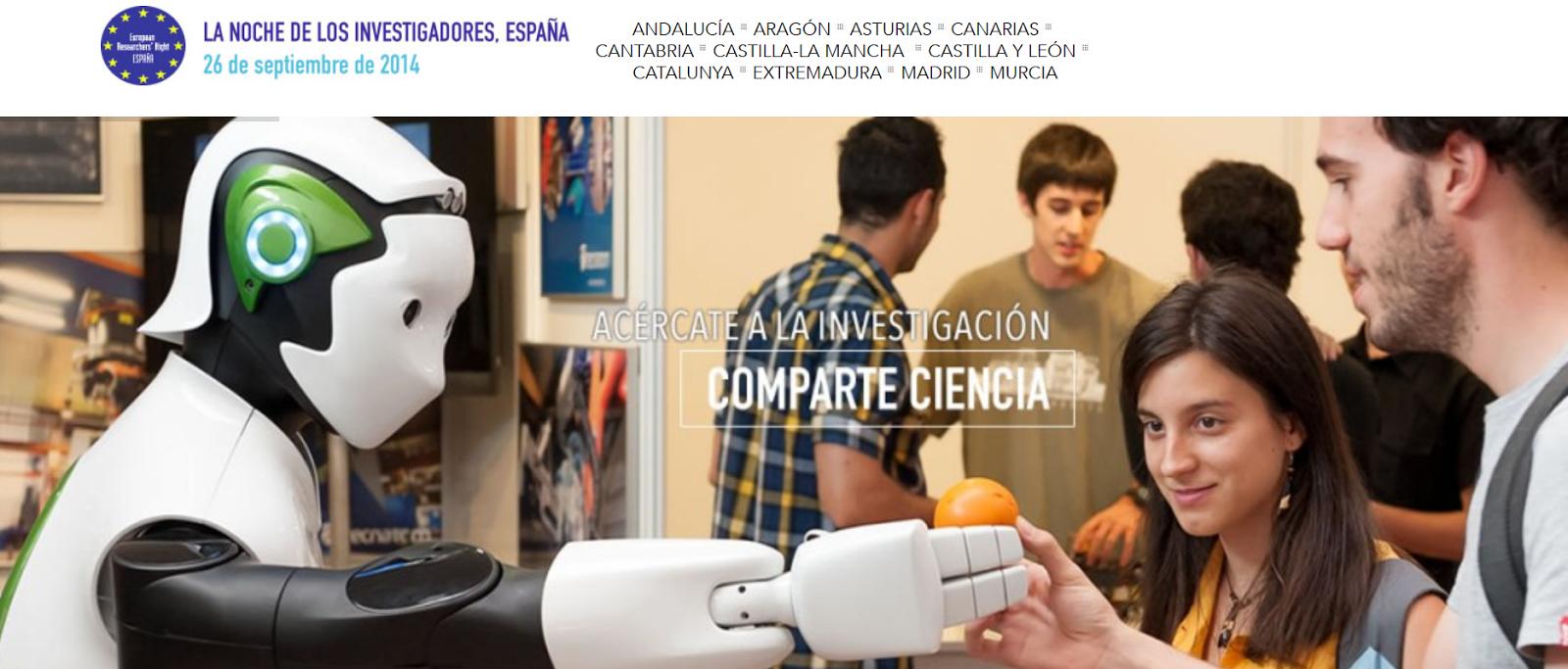 http://www.lanochedelosinvestigadores.es/