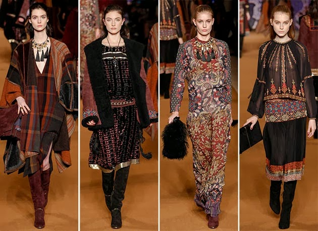 Tuba Edman Etro Fall 2014 15 Milano Fashion Week