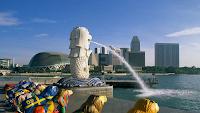 Patung Merlion dan Esplanade