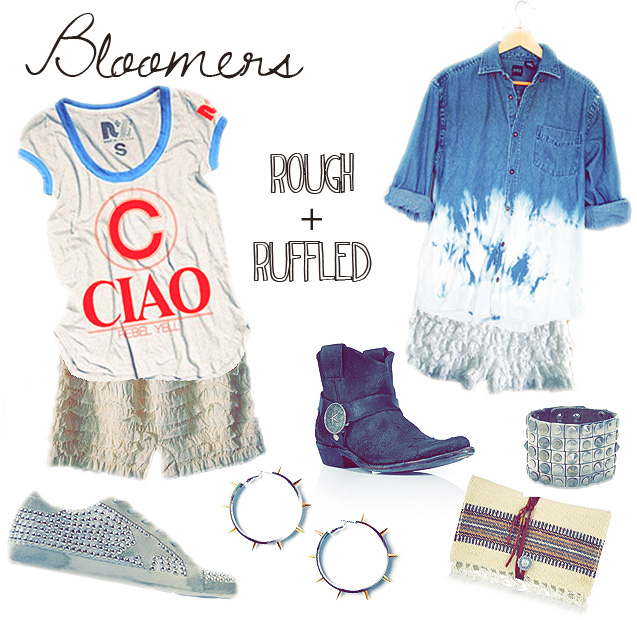 #bloomers #southwestern #fashion #fashion trend #2012 # ruffles #lace #leather
