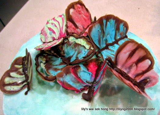 mothers day butterfly cake