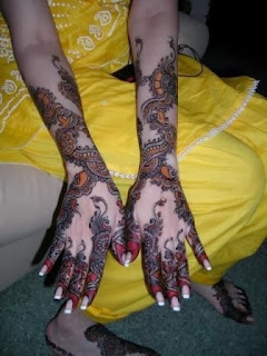 latest arabic mehndi design designs 2013-14