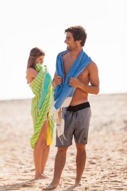 Futah -Toalhas de praia em algodão egípcio