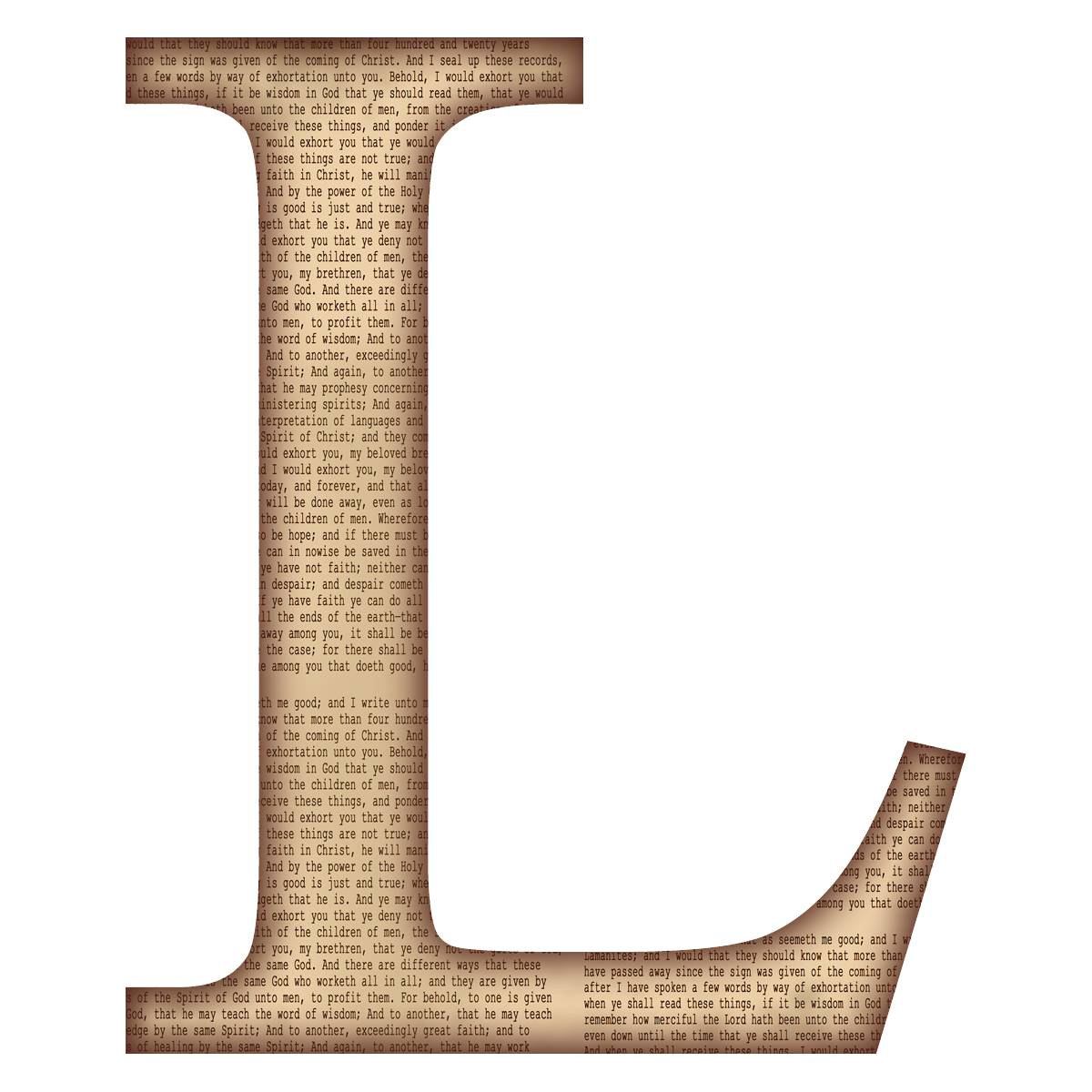 l alphabet letter - photo #5