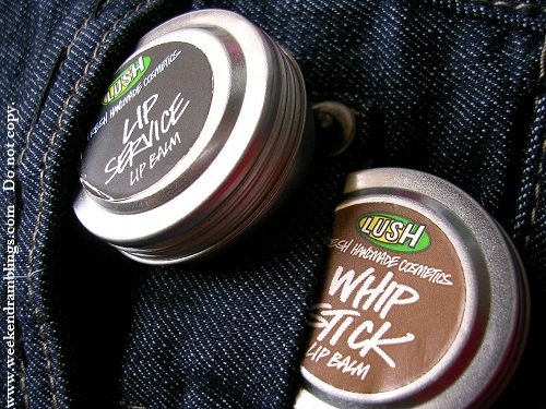 lush lip balms whipstick service review