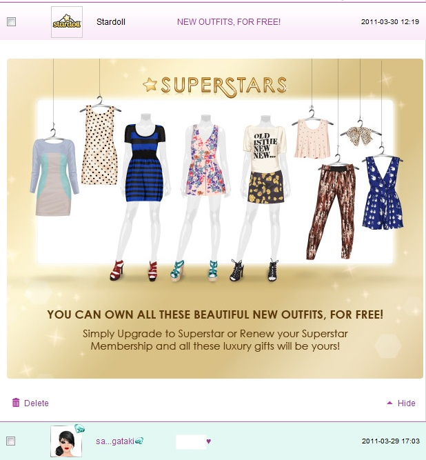 how to get more starpoints on stardoll