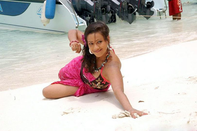 asian madalasa sharma beach bikini unseen pics