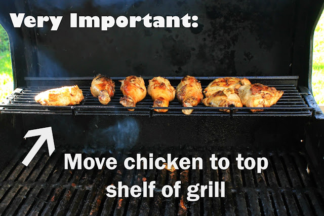 Grilling season is here and here's a super yummy recipe for sweet and spicy bbq chicken!