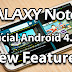 Galaxy Note 2 Android 4.1.2 New Features: Swap Notification Icons, 480p Flash Video Fix, Ink Effect