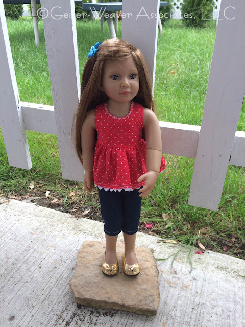 Julika's doll outfit by Geiser-Weaver Associates, LLC