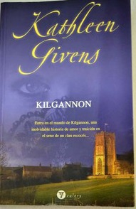 Portada del libro Kilgannon de la autora Kathleen Givens