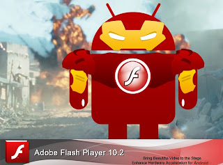 Update Flash player 10.2 ARMv6 dan ARMv7 Android