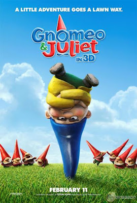 Gnomeo and Juliet 3D (2011) BRRip 720p Half SBS 500MB Mediafire