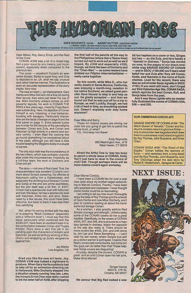 Conan the Barbarian (1970) Issue #253 #265 - English 24