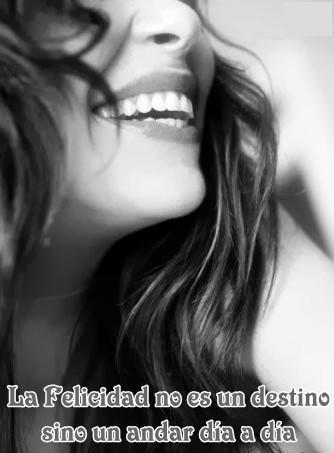 la felicidad tu la puedes crear!!!!