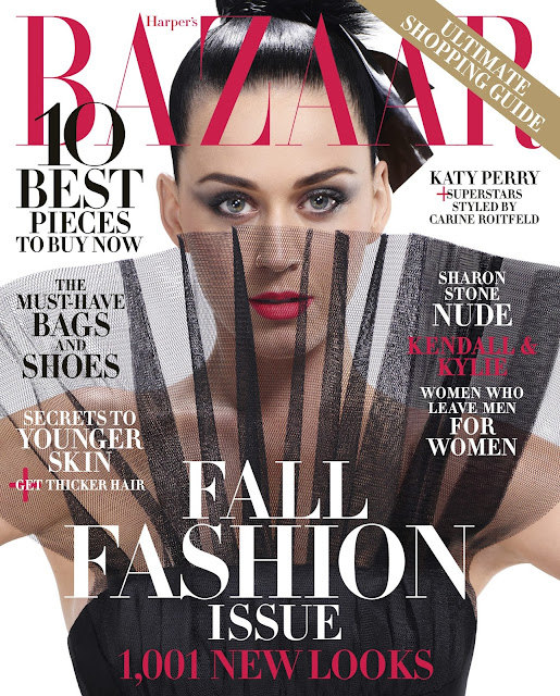 Actress, Singer @ Katy Perry by Jean-Paul Goude for Harper's Bazaar US, September 2015