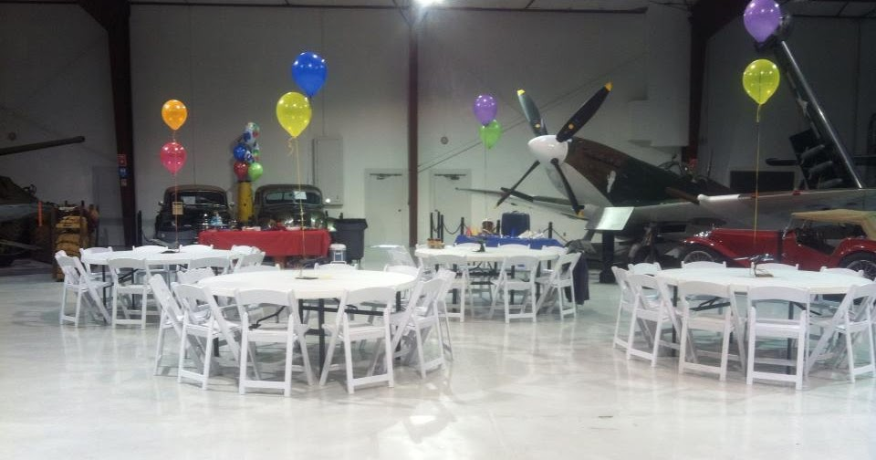 Cavanaugh Flight Museum Events: Party outside the