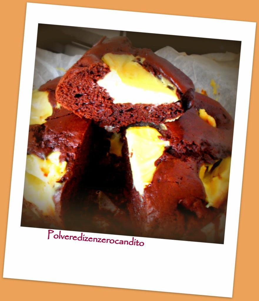 torta cioccolatosa con crema pasticcera   (bimby)